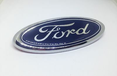 Ford Rear Badge Emblem 115mm x 45mm Chrome Style