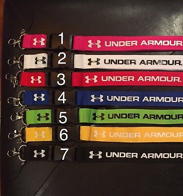 NEW Under Armour UA ~ 7 COLORS ~ LANYARD, ID, Badge, Key Chain *US SELLER *