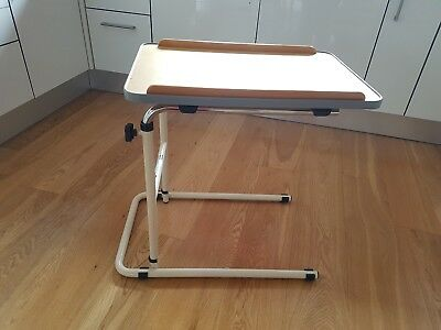 aidapt canterbury static multi-table for hospital or bed, chair or hobby or meal