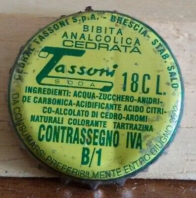 A2- TAPPO A CORONA TASSONI B/1 bottle crown