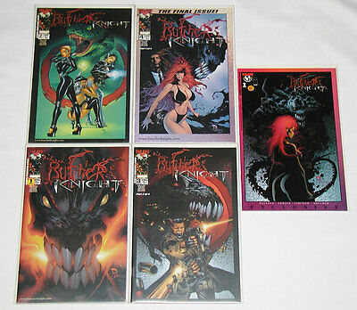 Butcher Knight #1-4 + DF Limited #1 Variant (COA) - Image / Top Cow (Lot of 5)