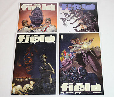 The Field #1-4 Complete Set All 1st Prints (Lot of 4) Image Comics