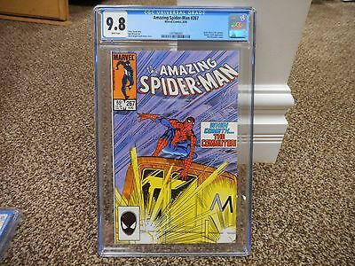 Amazing Spiderman 267 cgc 9.8 1st appearance the Computer Marvel 1985 WHITE pgs