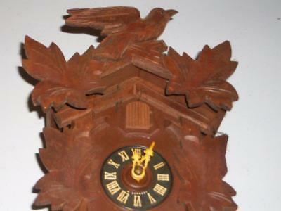 Vintage Cuckoo Clock - Weights, Chains And Pendulum Included For Repair
