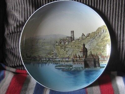 Antique German Mettlach Plate - 12/2 inches 159/1044 Caub
