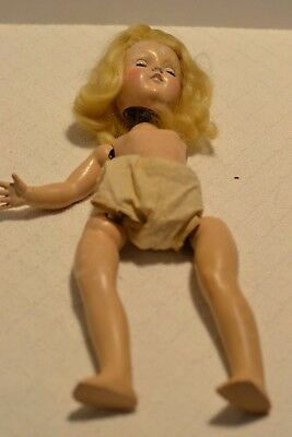 Vintage Ideal P-90 Doll For Parts