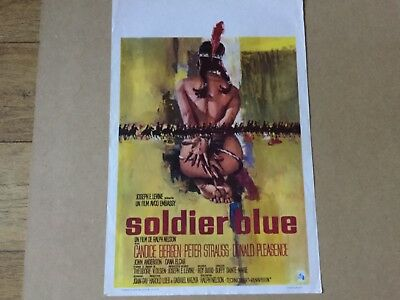 'Soldier Blue' Original 1970 Belgian Movie Poster