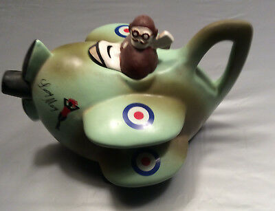 Lucy May Carlton Ware novelty teapot