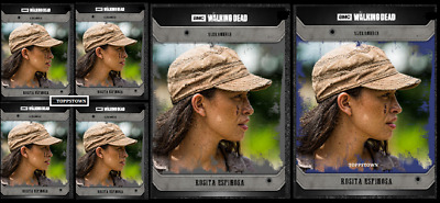 Topps The Walking Dead Card Trader COMMUNITY ROSITA Black & Blue 5+1 Digital