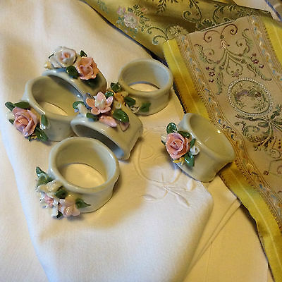 Vintage French Style Napkin Rings