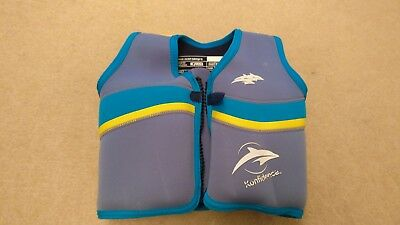konfidence Swim Jacket, Blue & Yellow, Size Class B (up to 20kg) 1 of 2 selling