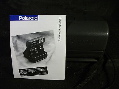 Vintage Polaroid One Step Close Up Instant Camera w/Manual Tested Working
