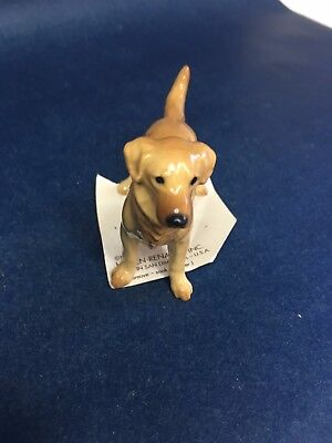 Hagen Renaker  Porcelain 1995 Golden Retriever New on Card