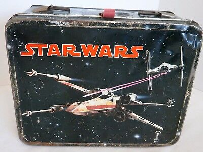 Vintage 1977 Star Wars Lunchbox Made by Thermos No Thermos