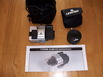Siemon FTERM-XLR8-C2 Fiber Optic Cleaver + Leviton