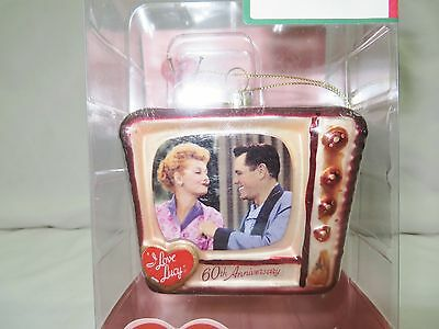 I Love Lucy Tv Christmas Ornament Nip Hand-Crafted