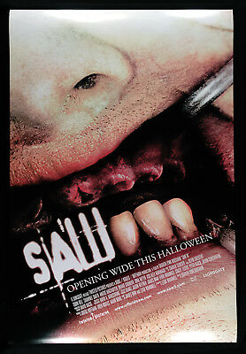 "Saw Iii (2006) Original Advance Rolled Movie Poster 2-Sided 27"" X 40"""