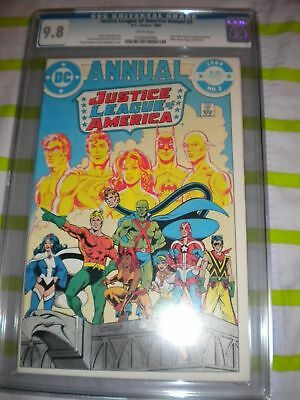 Justice League of America Annual 2 CGC 9.8  1st Vibe & Gypsy