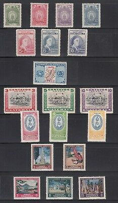 Guatemala 1947-1950 Mint and Used Air Collection all sound