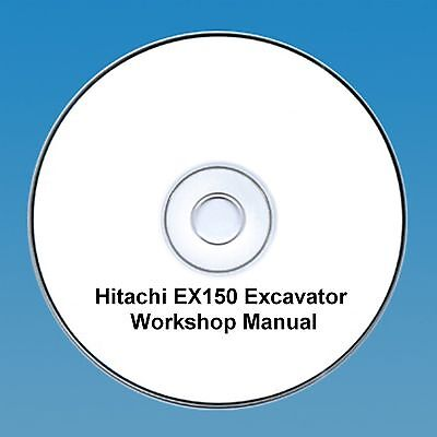 Hitachi EX 150 Excavator / Digger Workshop Manual