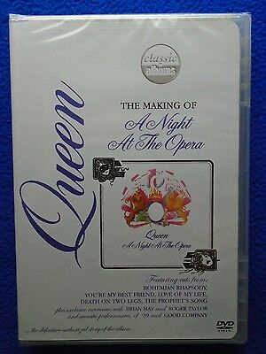 ~~ Queen ~ He Making Of A Night At The Opera Dvd ~ 2005 ~  New! Sealed ~~