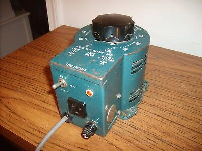 Vintage Staco Type 3PN1010 Variable Auto Transformer Excellent Tube Ham CB Radio
