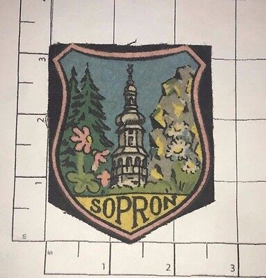 Sopron Patch - vintage - Hungary