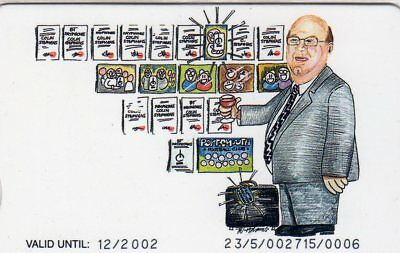 VIS113  Colin Stephens   -  BT Phonecard - Mint Only 30 cards produced