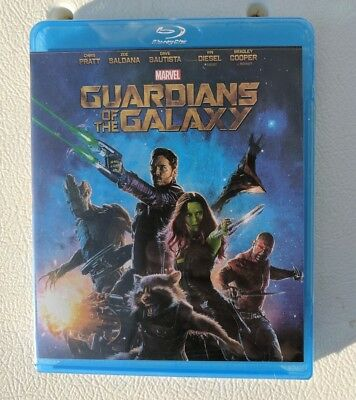 New  Sealed Guardians of the Galaxy 1 2014 HD Blu-ray/Blueray movie (no digital)