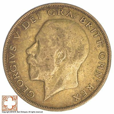 1923 Great Britain Half Crown *XB47
