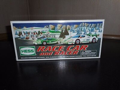 2009 Hess Truck  Race Car And Racer Unopened
