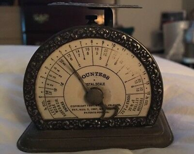 Antique 1897 Countess Postal Scale