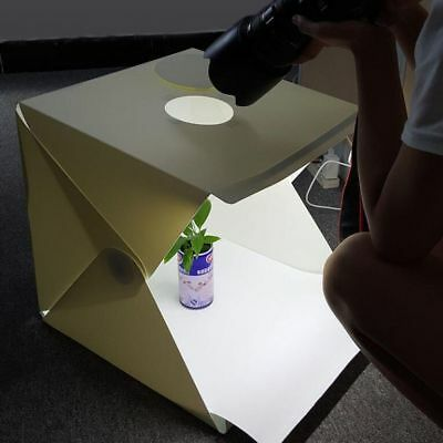 "LED Light Room Photo Studio Photography Lighting Tent Kit Mini Cube Box 12"" CA"