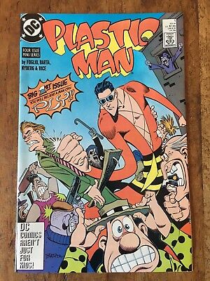 Plastic Man (1988 series) #1 in Near Mint Condition FREE bag/board 1st Key Issue