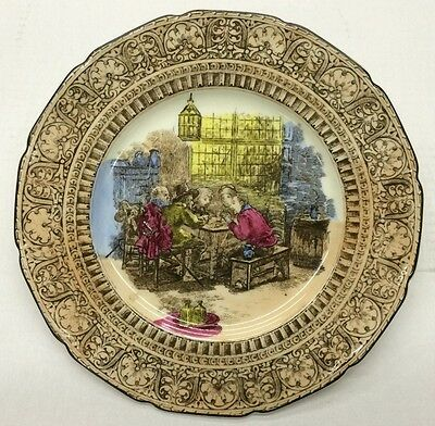 """Royal Doulton Collector Plate """"Sketches From Teniers"""""""