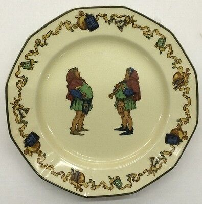 Royal Doulton Minstrel's Series Collector Plate