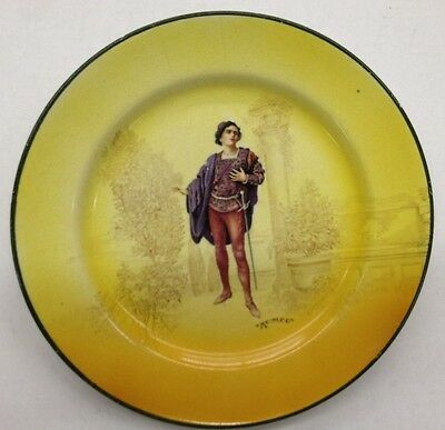 """Royal Doulton Collector Plate - Shakespeare Series - """"Romeo"""" 8 1/2"""" in diameter"""