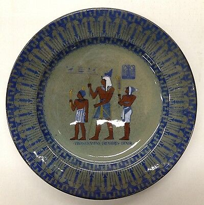 Royal Doulton Collector Plate Titanian - Tutankhamen's Treasures Luxor