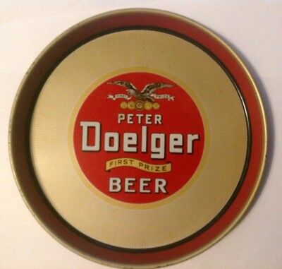 Peter Doelger First Prize beer tray