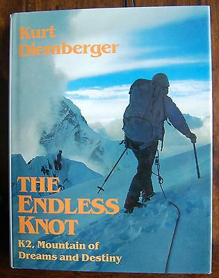 K2 The Endless Knot: Mountain of Dreams and Destiny SIGNED by Kurt Diemberger
