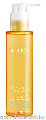 Decleor MICELLAR OIL Face Wash Cleanser 150ml Cleanses & Removes Make Up