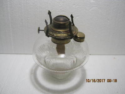 Antique, Oil Kerosene Glass Lamp Patented 1875 & 76