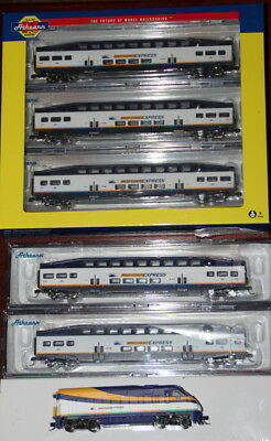 Athern West Coast Express Locomotive and 5 passenger  cars