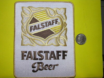 Beer Patch Falstaff Beer Patch Large Back Size Look And Buy It Now!*