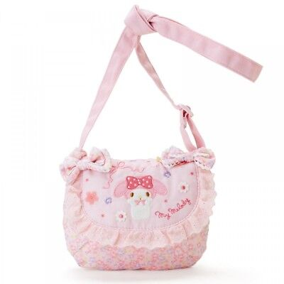 My Melody Shoulder bag with clasp Sanrio Kawaii Cute 2019 NEW F//S Pink
