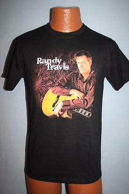 RANDY TRAVIS & Guitar 2010 Concert Tour T-SHIRT Small COUNTRY