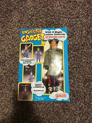 1983 Inspector Gadget doll with a magic action features 20 moving parts