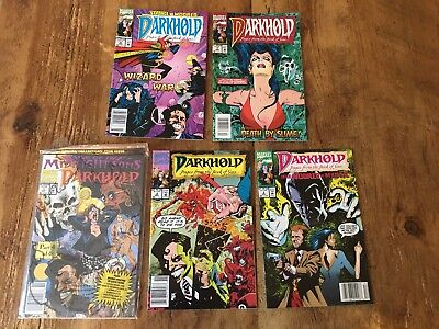 Rise Of The Midnight Sons Darkhold 5 Issue Lot #1 #2 #3 #6 #7 Marvel 1992 SALE