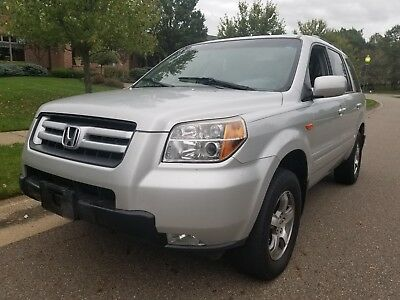 2008 Honda Pilot  2008 HONDA PILOT EX TV DVD 3RD ROW SUNROOF LOADED NO RESERVE!!!