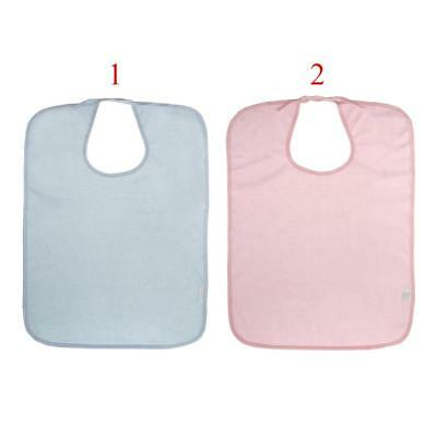 Adult Disability Cloth Protector Mealtime Bib Apron Waterproof Anti-Oil